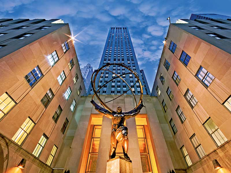 The history of the Rockefeller family