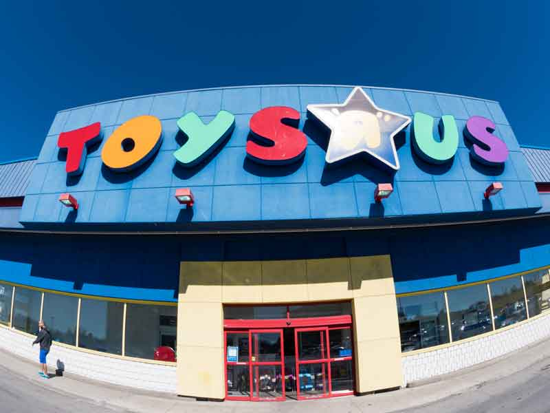 As customers increasingly shop online, reduced foot fall in store has forced Toys R Us to file for bankruptcy in the US