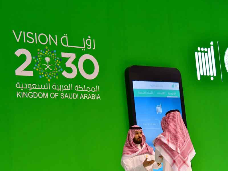 The vision 2030 strategy aims to diversify Saudi Arabia's economy by developing public service sectors such as health, education, infrastructure, recreation and tourism