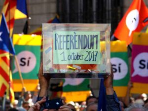 The independence referendum was approved by the Catalan Government. However, the Spanish Government maintains that is it an illegal vote and claims the result is not valid