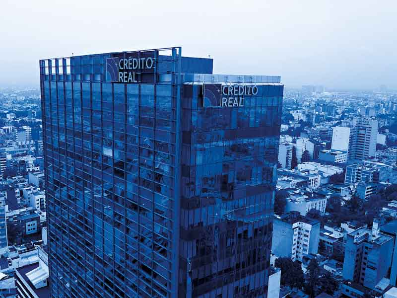 Crédito Real's headquarters in Mexico City