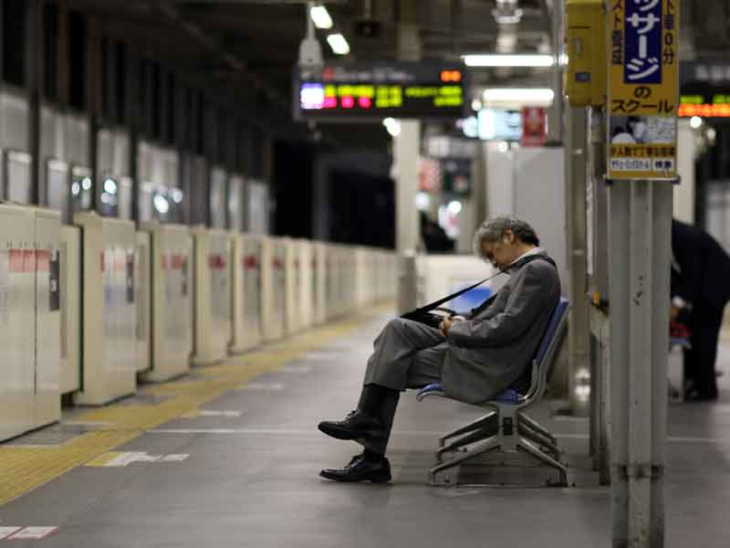 Japanese reporter dies after clocking 159 hours of overtime
