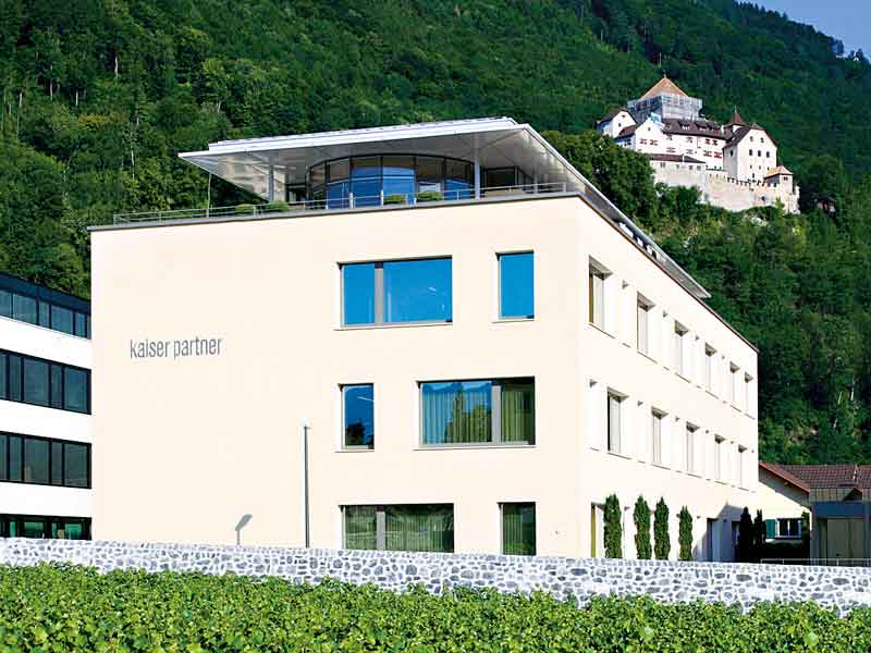 Kaiser Partner's office in Vaduz, the capital of Liechtenstein