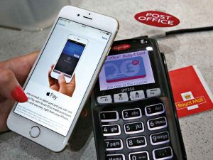 Apple Pay allows users to pay for items on their phones