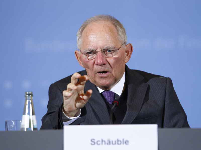Schäuble served as Germany's finance minister for eight years