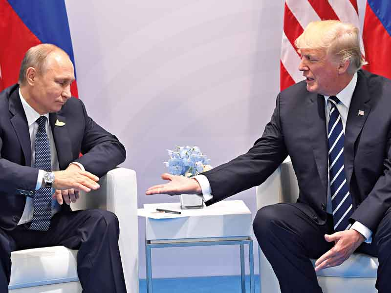 US President Donald Trump is notorious for his unconventional handshake, used to assert dominance