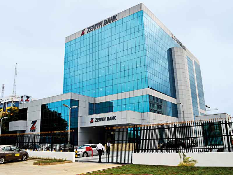 Zenith Bank's head office in Ghana