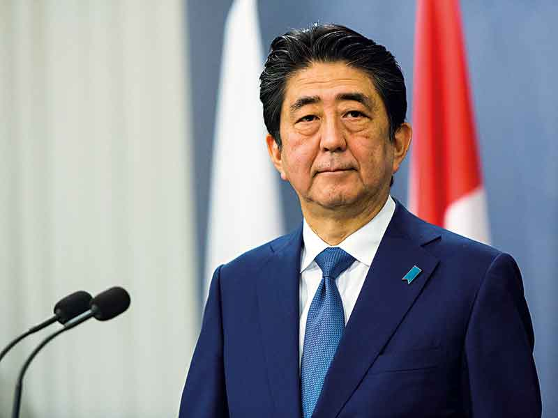 Abe's landslide victory was a massive boon for his eponymous economic stimulus package, known as Abenomics