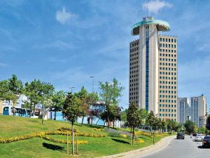 Garanti Bank's Istanbul headquarters