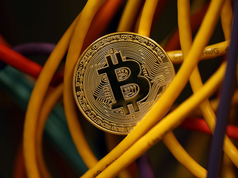 Bitcoin's market capitalisation grew 14-fold in 2017, rising from $15bn to $221bn