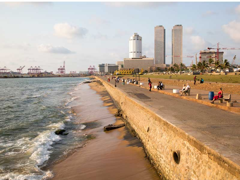 Sri Lanka has moved away from the mainly agriculture-based economy of its past, the country has experienced rapid urbanisation and significant modernisation over recent years