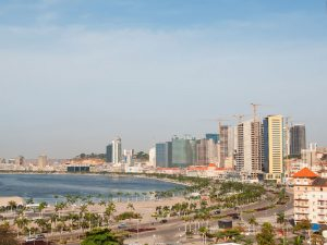 Luanda, Angola's capital city. At a press conference in the city, Governor José de Lima Massano told reporters that the country's dollar peg would be loosened