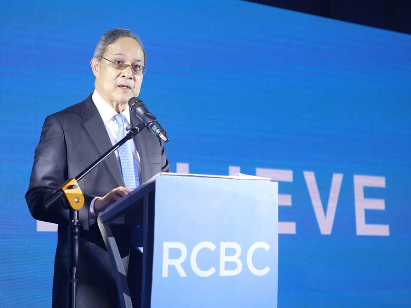 Gil Buenaventura, President and CEO of RCBC. The bank recently underwent a transformation that has allowed it to shed its traditional image and introduce more modern qualities