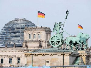 Germany's surplus, the largest current account surplus in the world, is currently worth a massive $287bn, or around eight percent of its GDP