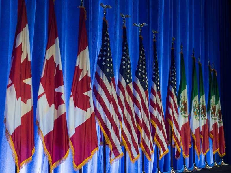 Many infer that the US' attitude towards NAFTA indicates an ever-more protectionist approach to wider international trade issues