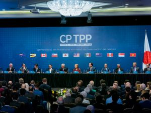 The Comprehensive and Progressive Agreement for Trans-Pacific Partnership is a trade agreement between 11 countries in the Pacific region