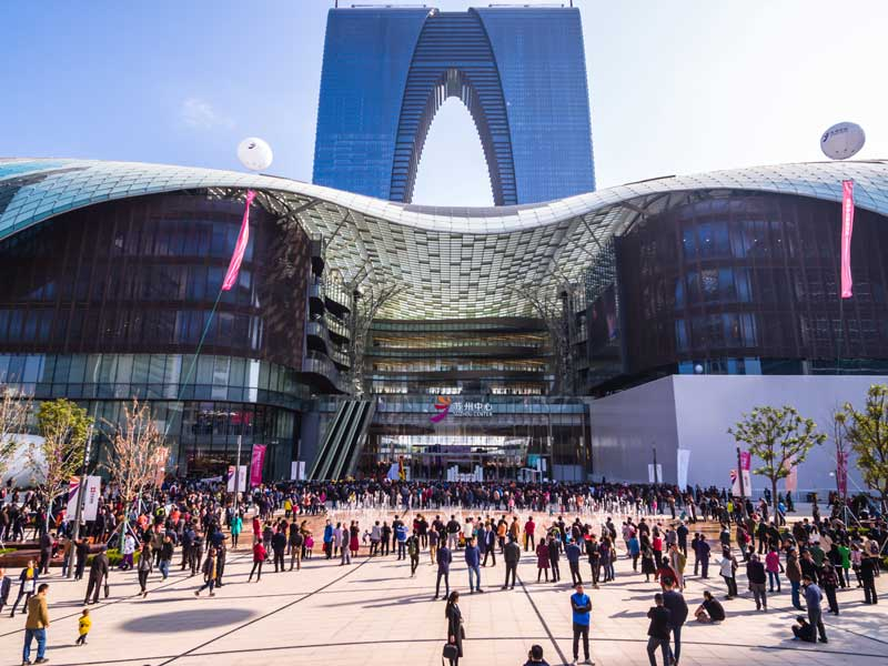 CapitaLand opened a record 1 million square metres of retail space across eight developments in Asia last year – its largest retail space offering in a single year