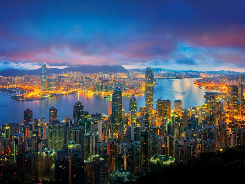The 'one country, two systems' principle has allowed Hong Kong to retain its free market freedoms while also enabling it to act as a gateway to the Chinese market