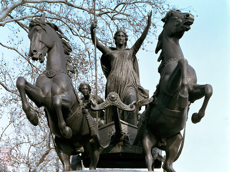 Boudicca is remembered for defeating the Roman Ninth Legion who tried to take over her husband's tribe, the Celtic Iceni, upon his death