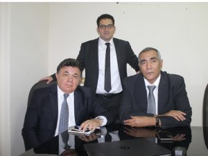Masaref is an independent services company, specialising in the implementation of the Temenos T24 Core Banking system. [L-R] Dr Mohamed Goneid, Tarek Hamoud and Ahmed Abdel Aziz