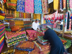 Silk is still sold on the route of the old Silk Road. Today's version includes the Silk Road Economic Belt - the overland component - and the 21st-century Maritime Silk Road