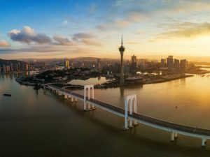It is hoped that Macau's Special Administrative Region (SAR), China's Guangdong province, and Hong Kong's SAR will collaborate to jointly construct a world-class bay area