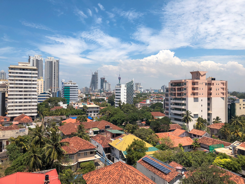 Colombo, Sri Lanka's capital. The country's economy has struggled recently under the weight of inflationary pressure and adverse weather, which has effected its core agricultural sector