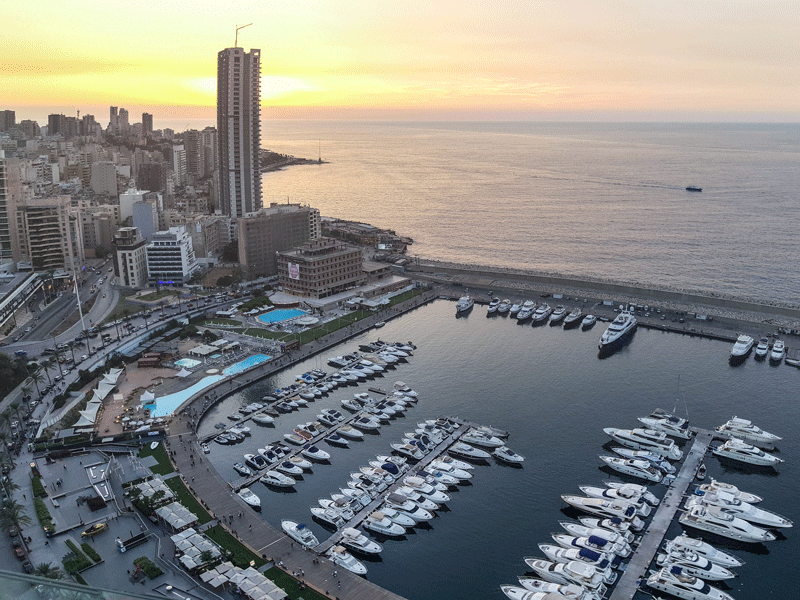 Beirut, Lebanon. For more than a decade, the Middle Eastern country has been suffering from a protracted period of subdued expansion as the traditional engines of growth were subdued