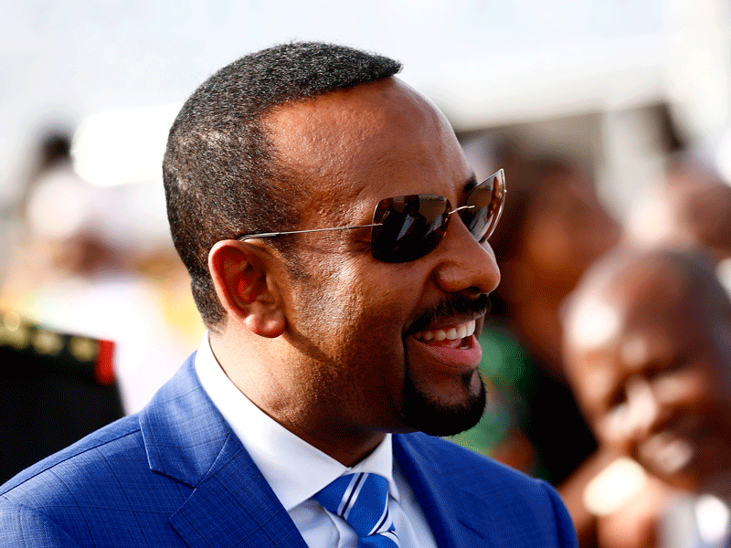 Ethiopia's charismatic new prime minster, Abiy Ahmed. Since coming to power, he has made bold moves to modernise and diversify his country's economy