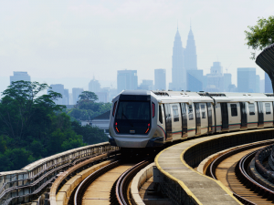 Malaysia's MRT train system, Kuala Lumpur. Mahathir Mohamad, the country's new leader, has cast doubt over billions of dollars' worth of China-backed infrastructure projects