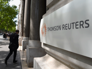 Thomson Reuters is the world's leading provider of news and information. The company will still retain a 45 percent minority share in its F&R business after the sale to Blackstone