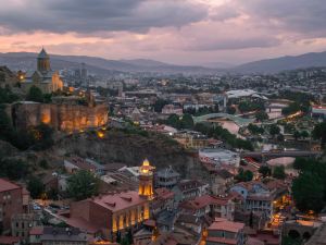 Tbilisi, the capital of Georgia. The country has continued to climb the rankings this year as a number of reforms and procedural improvements allowed it to reach number six
