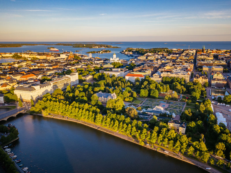 Helsinki, Finland. The country is at the forefront of the European mining industry as it has more than 40 mines and quarries, and is the only EU country producing phosphate and cobalt