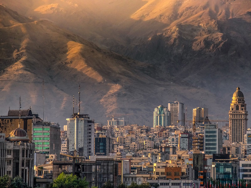 Tehran, Iran. The country's oil industry has been particularly baldy hit by the recent US sanctions and this new European mechanism will not cover transactions related to this sector