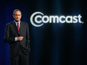 Brian Roberts CEO of Comcast. The company's $53.3bn takeover of Sky in September was just one of a number of mammoth deals that were completed last year