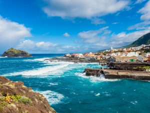 A coastal village in Tenerife, the largest and most populated of the Canary Islands. The island chain is traditionally know for tourism, but it is also home to a thriving business environment