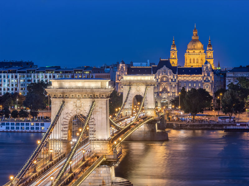 The Széchenyi Chain Bridge in Budapest. Hungary's insurance market has continued to grow steadily in recent years as more opportunities present themselves to companies in the sector