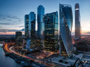 Moscow, Russia. The country's central bank has been rooting out failing banks in recent years as the sector looks to become evermore appealing to domestic and international investors