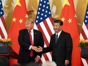 The US and China are engaged in an ongoing trade war, which has seen the two countries dispute the tariffs imposed on imported goods