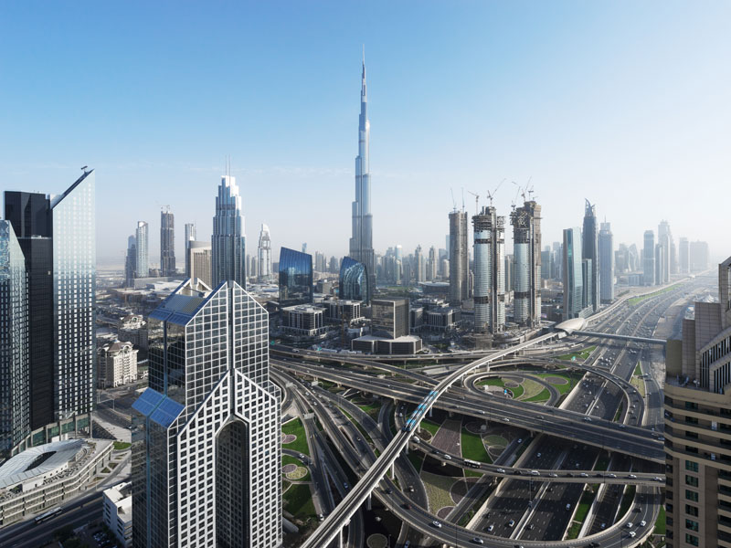 Dubai, United Arab Emirates. The country is bouncing back after cuts in oil production and instability in the MENA region bought about a period of slow growth