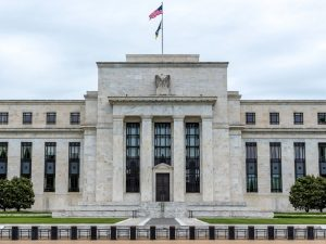 The US Federal Reserve building in Washington DC. The Fed recently announced that it would keep interest rates at two percent, despite some calls to increase it