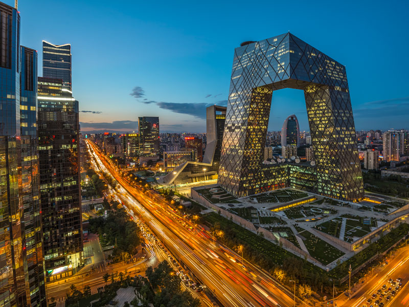 Beijing's Central Business district. For international brands to successfully enter the Chinese retail market, they must be aware of the different needs of Chinese consumers