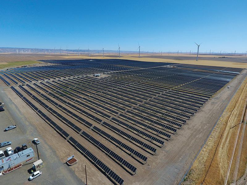 Avangrid Renewables' 1East Solar Project in Oregon
