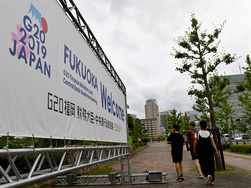 Fukuoka G20 summit: financial leaders express concern about intensifying geopolitical tensions