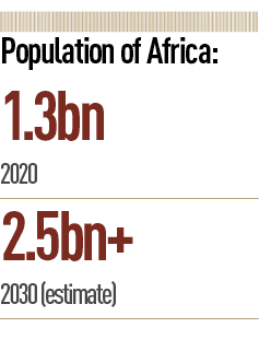 African population stats Azizi Realtors