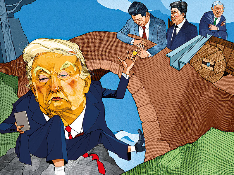 Trump's backwards march on trade