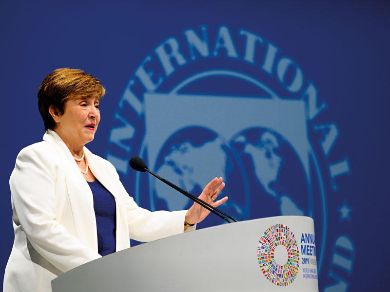 Кристалина Георгиева, директор-распорядитель, МВФ