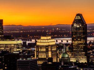Montreal skyline, Canada