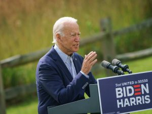Democratic presidential nominee Joe Biden has $141m more left in the bank than his rival