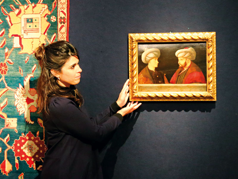 This painting of Sultan Mehmed II was sold at Christie's in June 2020 for more than $1m